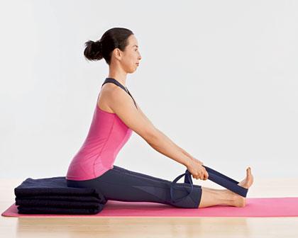 Пашчимоттанасана - Осваиваем позы - Уроки йоги
