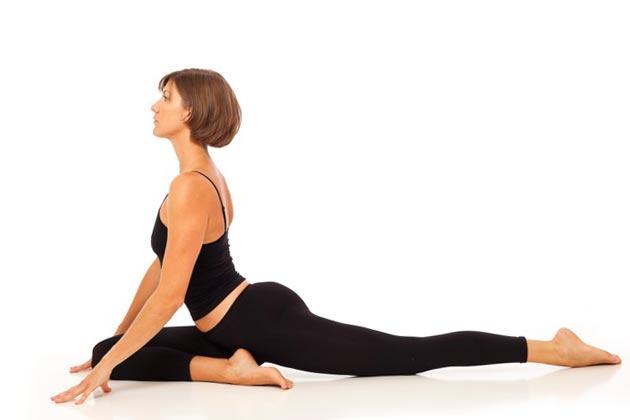 поза йога фото