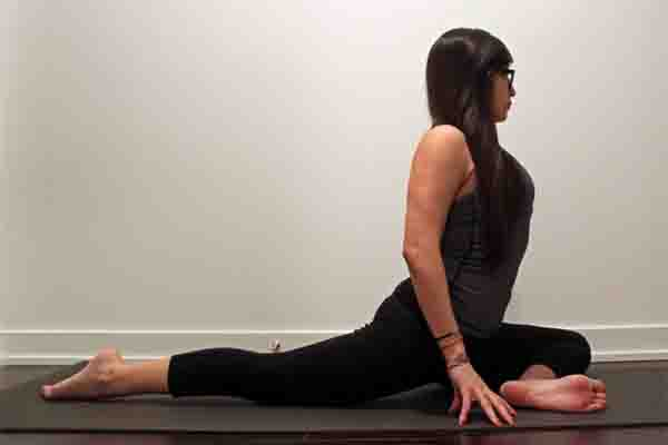 Which yoga pose is good for happiness? 34