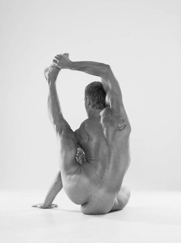 Йога Мужчина Фото Обнаженный