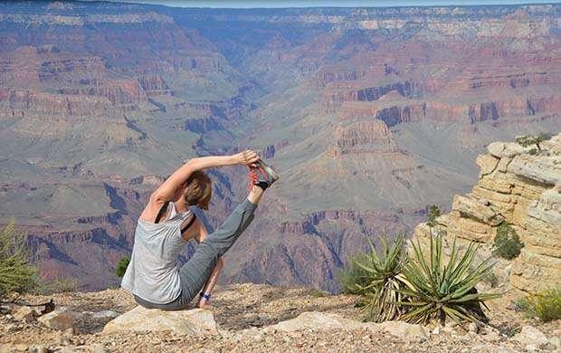 йога фото на природе